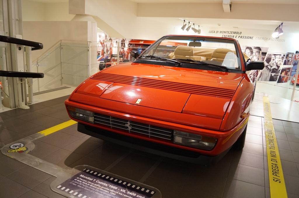 Mondial T Cabrio, 1989