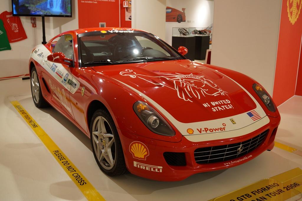 599GTB FIORANO PANAMERICAN TOUR 2006