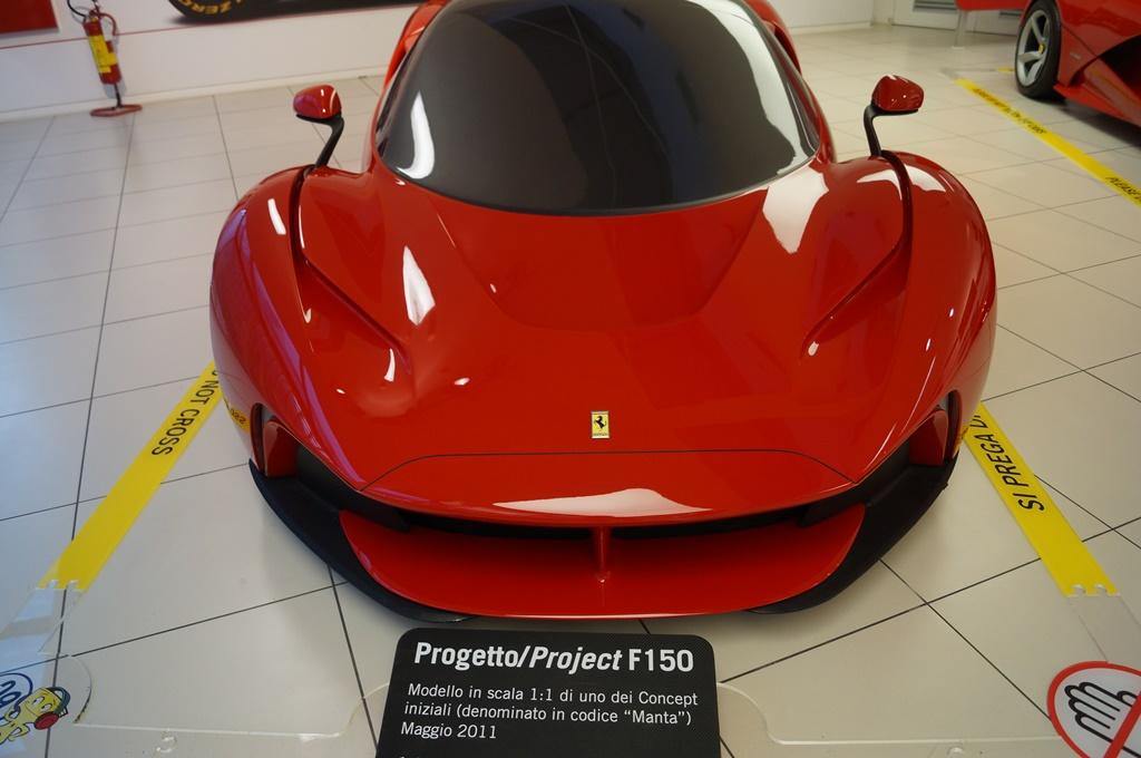 Progetto/Project F150