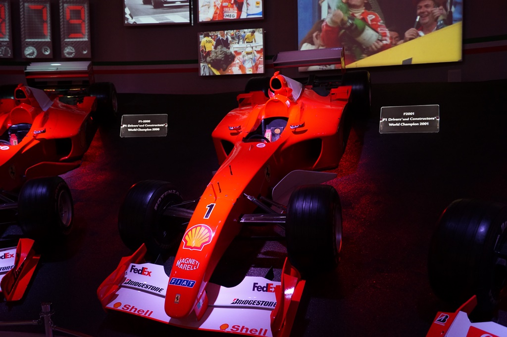 F2001 Wordld Champion 2001