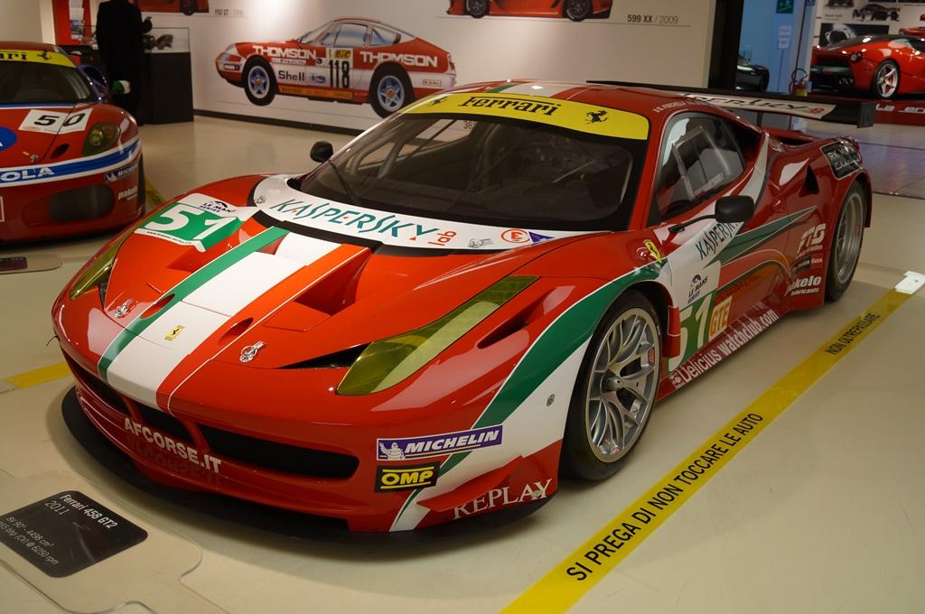 Ferrari 458 GT2 2011